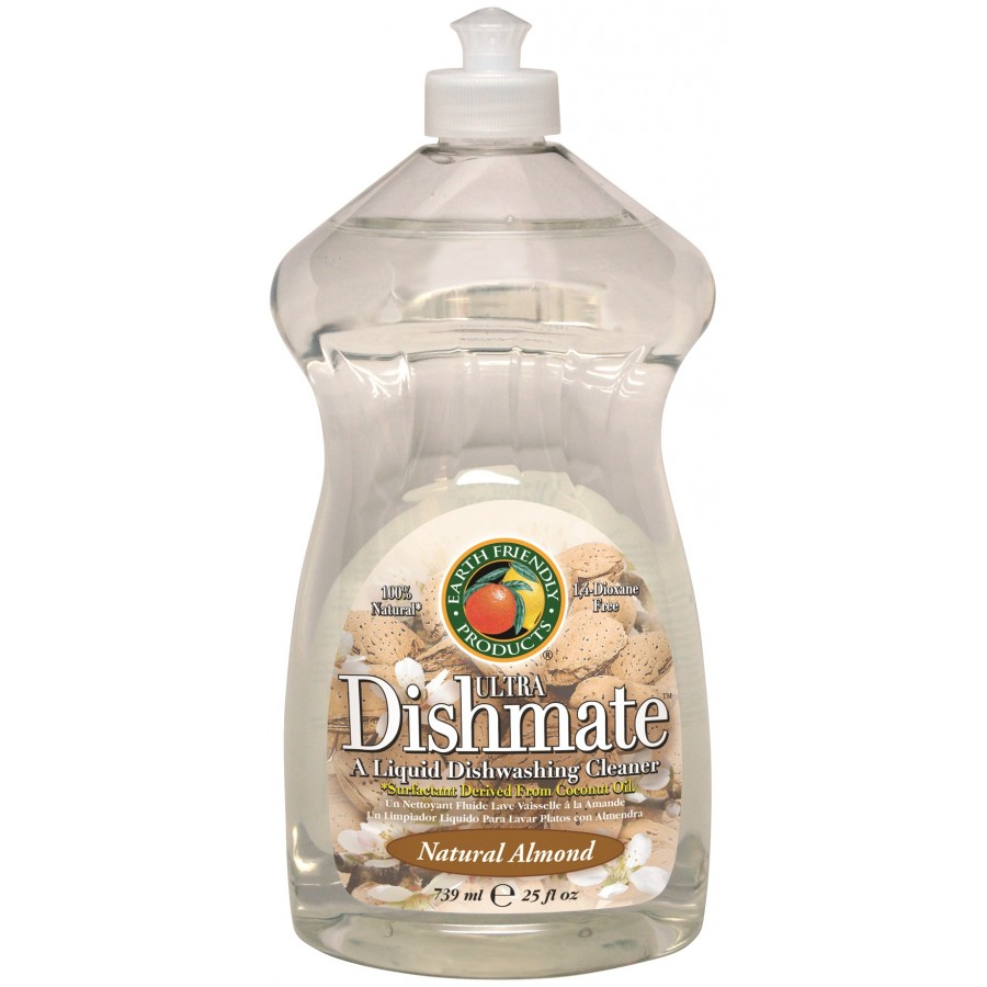 Dishmate Manual Dishwashing Liquid, Almond | 25 oz retail - (6/Case)