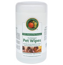 EFP Natural Pet Pre-Moistened Pet Wipes | 70 wipes per tub - (6/Case)
