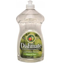 Dishmate Manual Dishwashing Liquid, Pear | 25 oz retail - (12/Case)