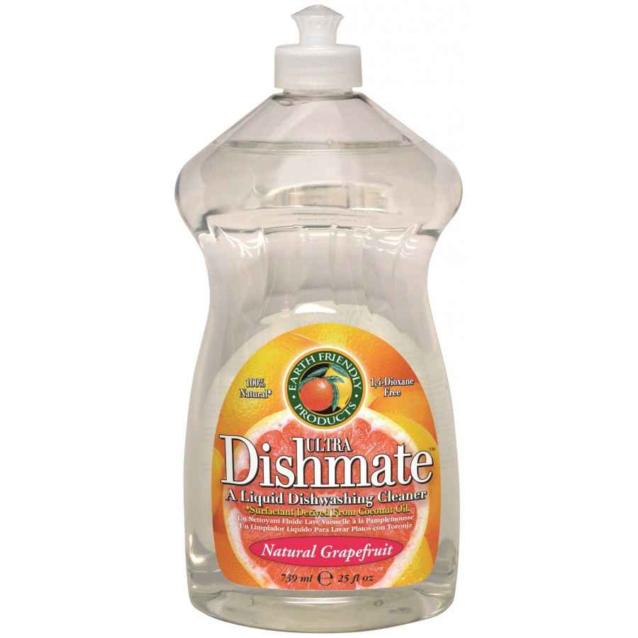 Dishmate Manual Dishwashing Liquid, Grapefruit | 25 oz retail - (12/Case)