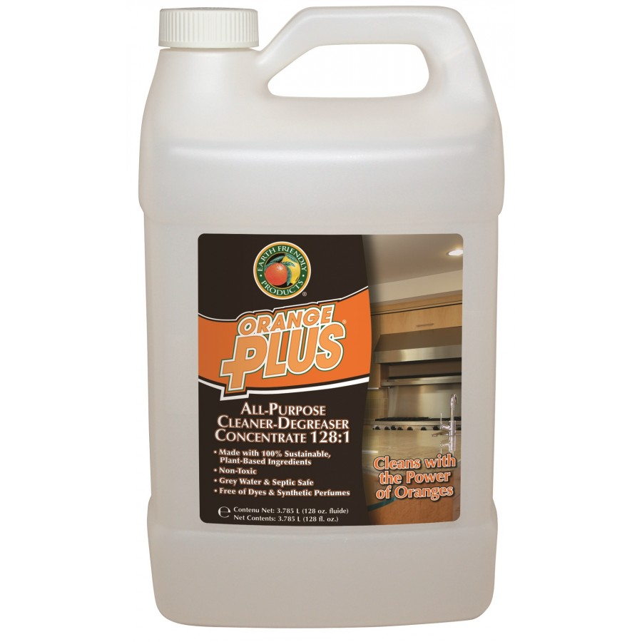 Orange Plus,  All-Purpose Cleaner-Degreaser Concentrate | f-style gal - (4/Case)