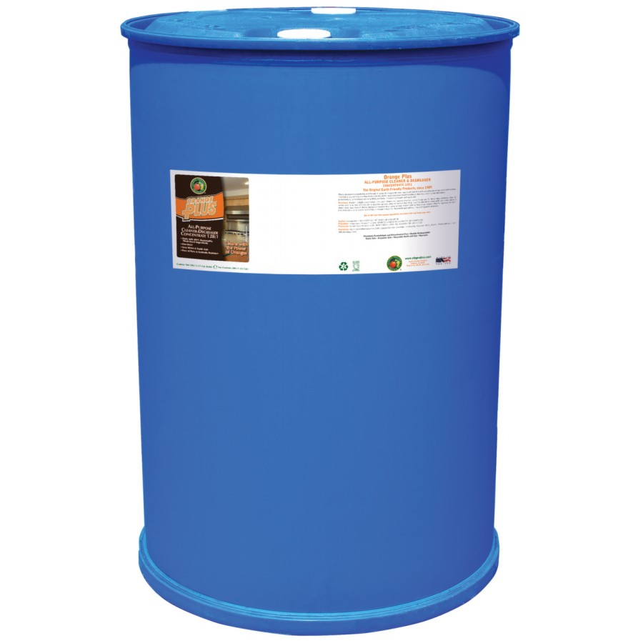Orange Plus,  All-Purpose Cleaner-Degreaser Concentrate | 55 gal drum - (1/Drum)