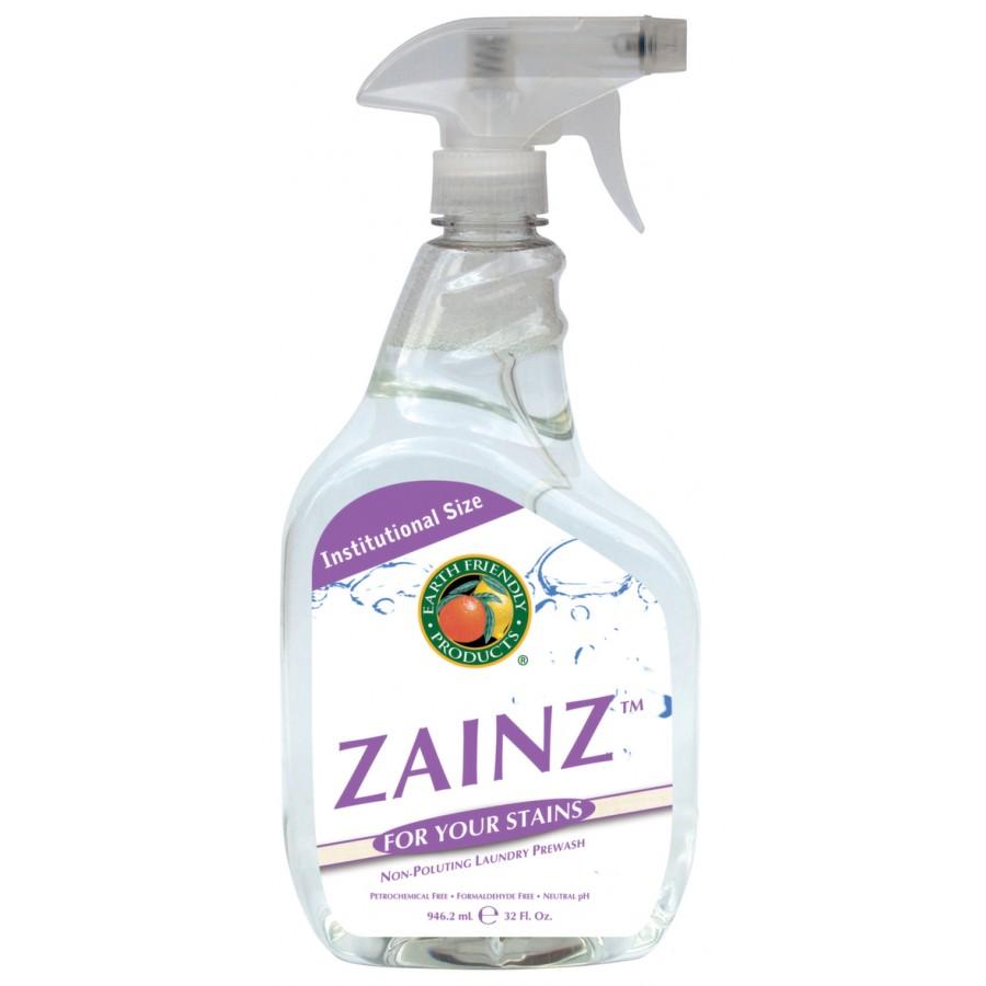 Zainz Laundry Pre-Wash Stain Treatment   32 oz spray - (12/Case)