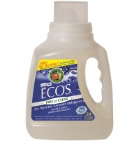 Ecos Liquid Laundry Detergent, Free & Clear | 50 oz retail - (8/Case)