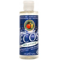 Ecos Liquid Laundry Detergent, Free & Clear | 4 oz - (50/Case)