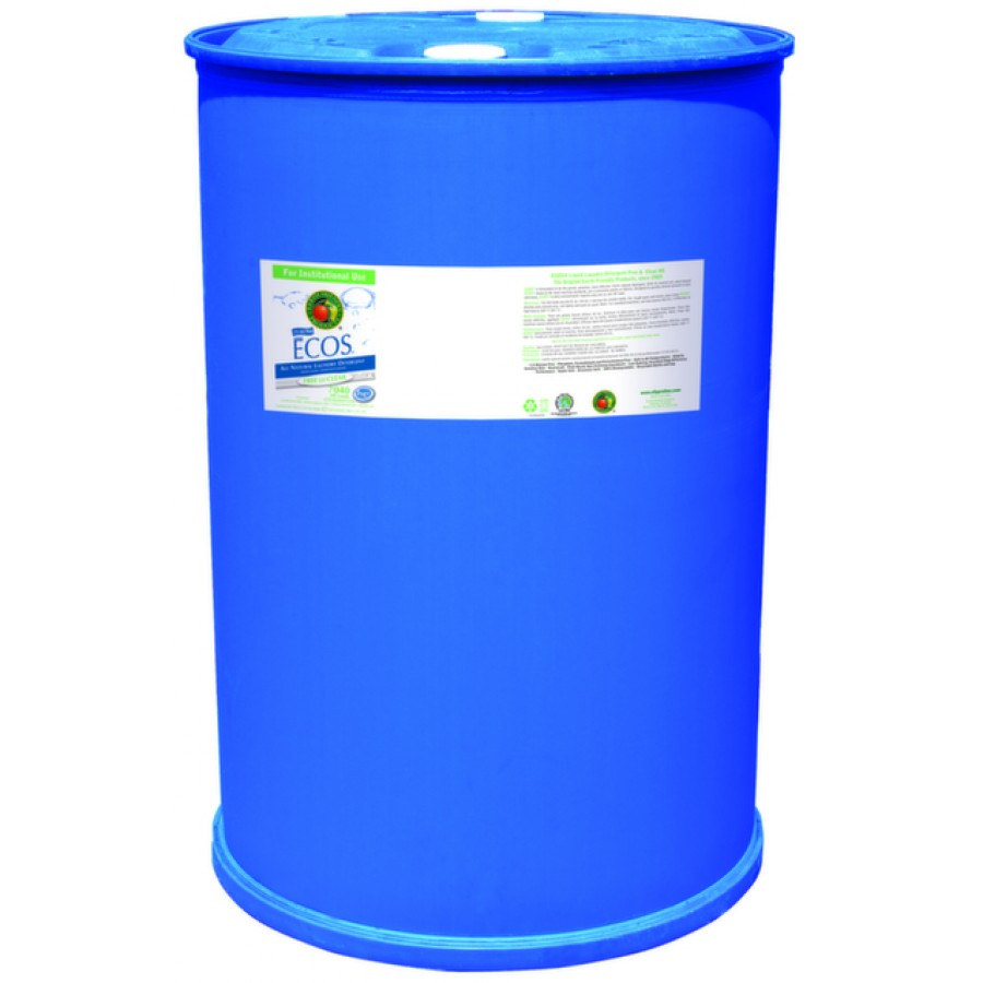 Ecos Liquid Laundry Detergent, Free & Clear | 55 gal drum - (1/Drum)