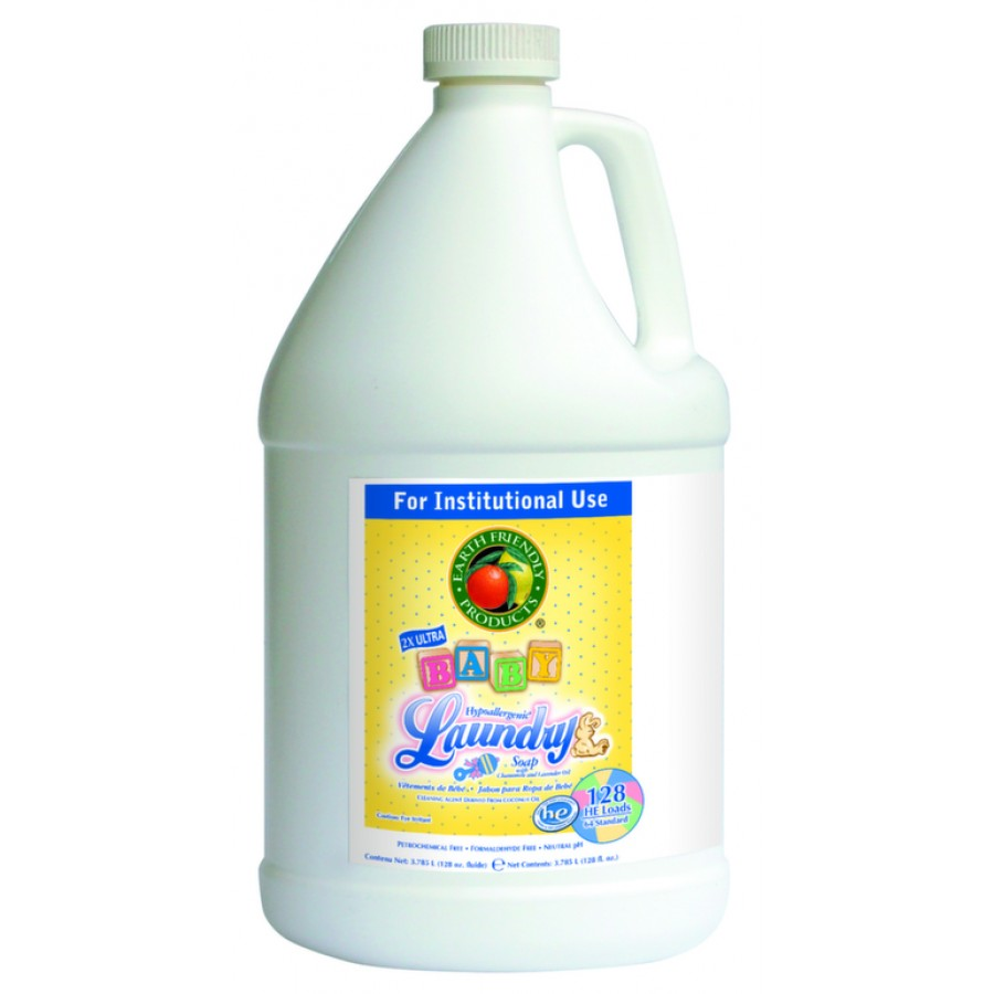 Baby Laundry Soap, Chamomile & Lavender   gal - (4/Case)