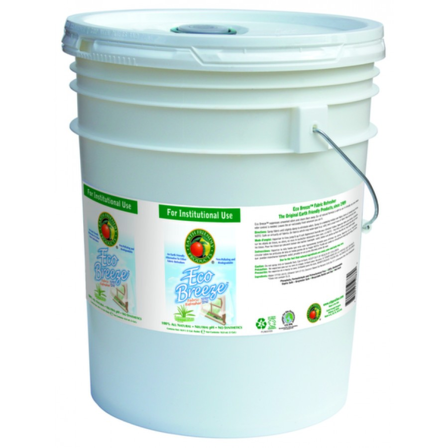 EcoBreeze Air & Fabric Freshener, Lemongrass | 5 gal pail - (1/Pail)