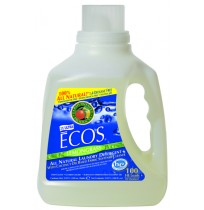 Ecos Liquid Laundry Detergent, Lemongrass | 100 oz retail - (4/Case)