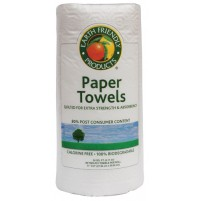Paper Towels- 100% Recycled Paper- 80% Post Consumer Content | 24 pack- 90/2 ply per roll - (1/Pack)
