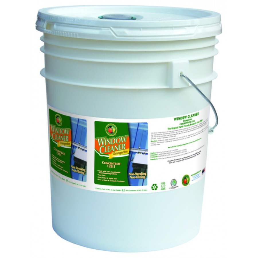 Window Cleaner Concentrate, Orangerine | 5 gal pail - (1/Pail)