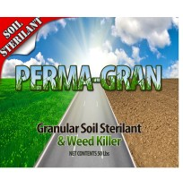 Soil Sterilant and Weed Killer - Perma Gran (50lb Pail)