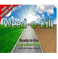 Weed O Kill (RTU) - Soil Sterilant and Weed Killer (Multiple Size/Packaging Options)