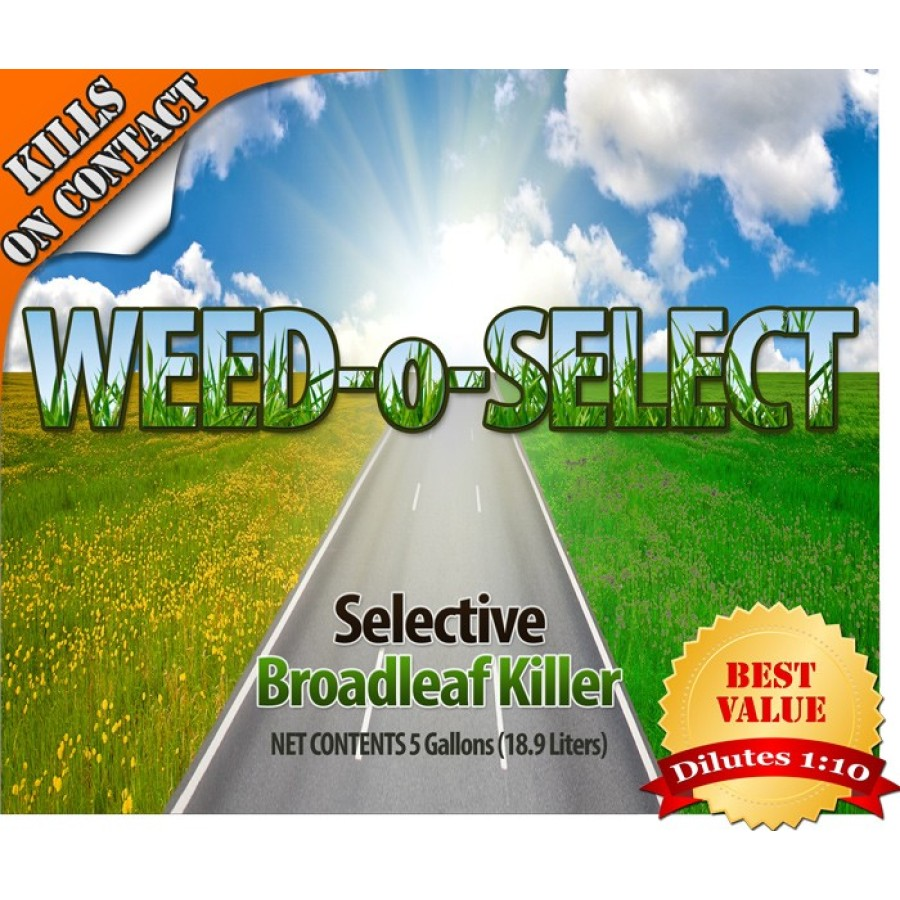 Weed O Select - Selective Lawn Weed Killer ( Concentrate 1:10)(Multiple Size/Packaging Options)